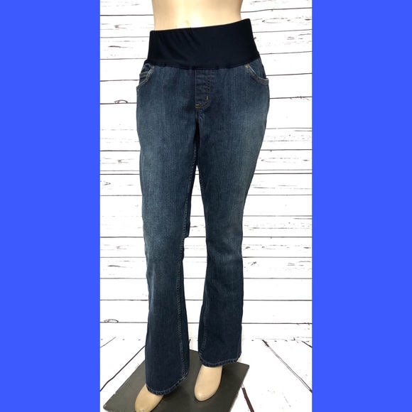 142b12334a2 Liz Lange Maternity Denim Jeans Casual Pant Choose Size and Style Free  Shipping Women's Clothing